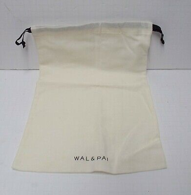 "WAL & PAI Shoe Cloth Storage Bag Container (15""X10"" pull tie) ONLY"