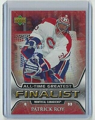 2005-06 Patrick Roy Upper Deck All-Time Greatest #31