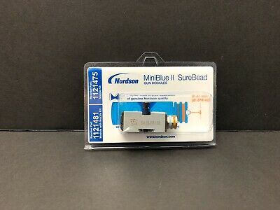 New Nordson MiniBlue II SureBead 1121481 with nozzle 1121475 kit