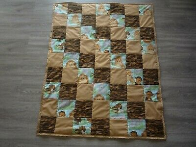 New Handmade Baby Quilt (Blanket)  - PATCHWORK