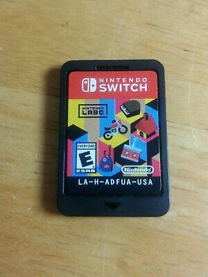Nintendo Labo Toy-Con 01 (Nintendo Switch, 2019) Game Cartridge Only