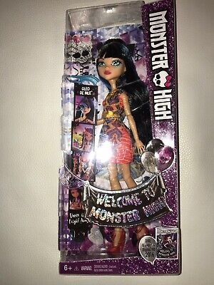 NEW - Welcome to Monster High - Cleo De Nile - NIB