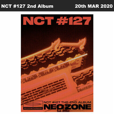 NCT127 NCT #127 Neo Zone 2nd Album T Ver CD+Photobook+Photocard+Etc+Tracking Num