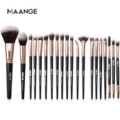 20Pcs Make Up Brushes Set Eyeshadow Eyeliner Lip Powder Foundation Blusher aa