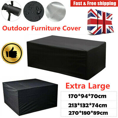 Waterproof Outdoor Furniture Protection Cover Garden Patio Rattan Table Large UK