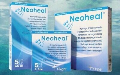 Tissue Regeneration Medical Hydrogel WOUND DRESSINGS for Burns Ulcers Sterile CE