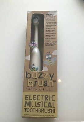 Jack n' Jill Buzzy Brush Musical Electric Toothbrush, 3 Years +, New In Box