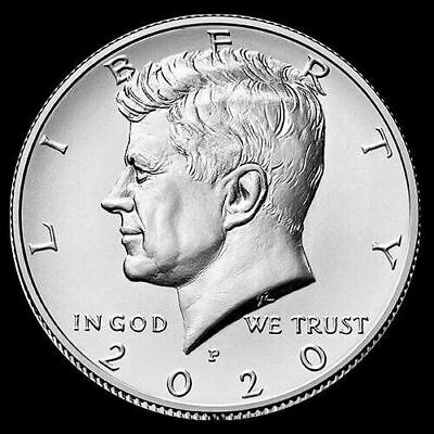 2020 P Kennedy Half Dollar Clad US Coin Brilliant Uncirculated ***Pre-Sale***
