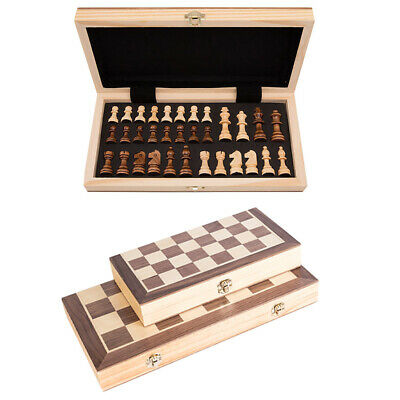 Folding Wooden Chess Set High Quality Chess Set Chessboard Toy Small Large Sizes