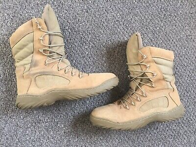 Reebok CM8994 Leather 12M Combat Navy SEAL Delta Force Tactical Boots USA MADE