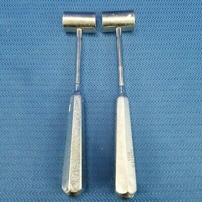 Schein Surgical Mallet Stainless Steel Dental Instruments Lot of 2
