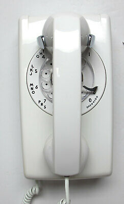 White 554 Wall Telephone - Full Restoration