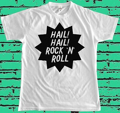 Hail! Hail! Rock N Roll T Shirt Chuck Berry Punk Retro Vintage Billie Joe Keith