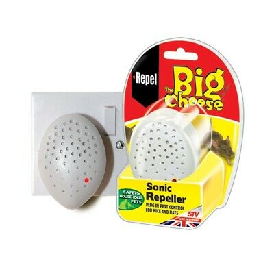 The Big Cheese Sonic Repeller - Humane Rodent Pest Deterrent [7266]