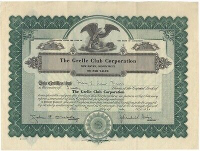 The Grelle Club Corp. Stock