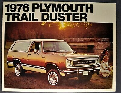 1975 Plymouth Trail Duster Sales Brochure Mint!