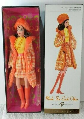 NEW 2006 Made for Each Other Barbie Doll Collector (Gold Label) 1969 Fashion