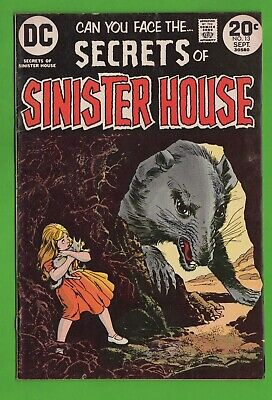 Secrets of Sinister House No. 13 DC Bronze Age Horror Large Rats Small People