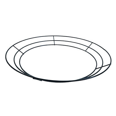 """Wire Wreath Rings Wire Wreath Frame for Wedding Party Valentines Decorations 14"""""""