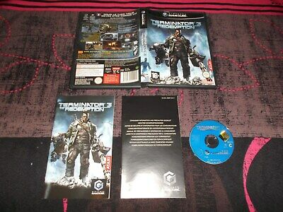 jeu nintendo game cube terminator 3 the redemption complet fr