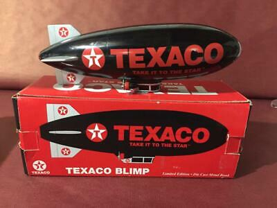 Vintage Texaco limited Blimp Bank Black NIB