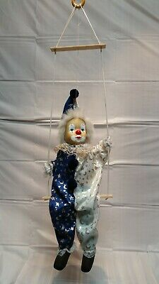 Marionette 18 Boy on a Swing Vintage 1 12 Pounds