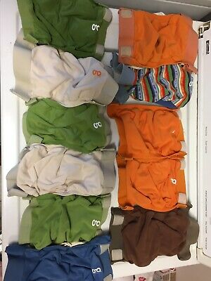 Gdiapers Cloth Diaper Cover Pouches Lot Of 11 Small Unisex Gpants