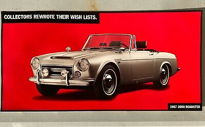 Datsun Dealer Promo Poster Advertising