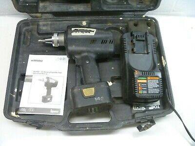 "Uponor Wirsbo Propex 100 Cordless Expander Tool 3/8"" Battery Charger As Is"
