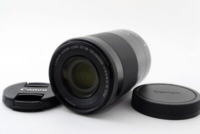 Canon EF-M 55-200mm f/4.5-6.3 IS STM Zoom Lens [Excellent+++] From Japan [jkh]