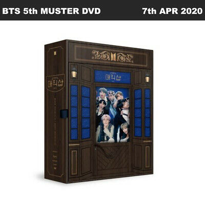 BTS 5th MUSTER MAGIC SHOP DVD Ver Disc+Photobook+Photocard+ETC+Tracking Number