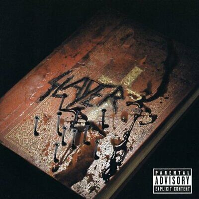 God Hates Us All - Slayer Collector's Edition Enhanced New Sealed Music Audio CD
