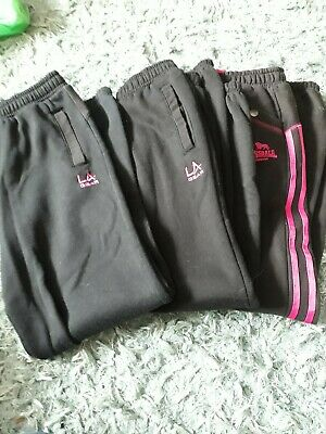 Bundle Girls Tracksuit Bottoms Size 6 Age 13 Years