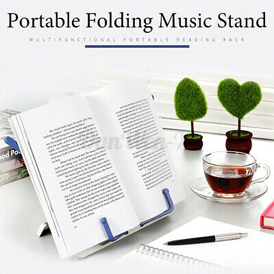 Foldable Recipe Book Reading Stand Holder Stand Rest Stand Kids Music Book Shelf