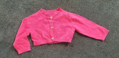 Ted Baker Baby Girls Cardigan Hot Pink Size 000