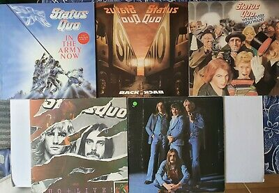 Status Quo - 5 x LP Job Lot, Blue For You, Whatever You Want, In The Army Now..