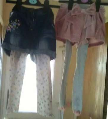 M&S/George Girls Shorts & Legging/Stockings for 3-4 years & 4-5 years USED