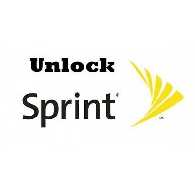 Sprint Factory Unlock Service - IPhone (All models) - IMEI CLEAN&ACTIVE&UNPAID