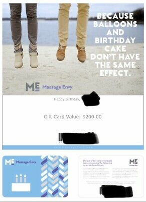 $525 Massage Envy Gift Certificate For $395