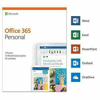 Microsoft Office 365 - 1 User / 5 Devices - 1 Year Subscription - Emailed Key