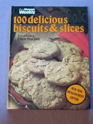 Retro Womens Weekly Cookbook 100 Delicious Biscuits And Slices Recipes  Vintage