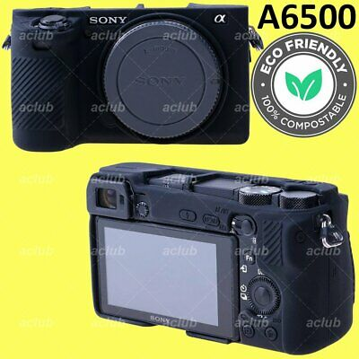 Sony A6500 Silicone Protective Case Cover - Black