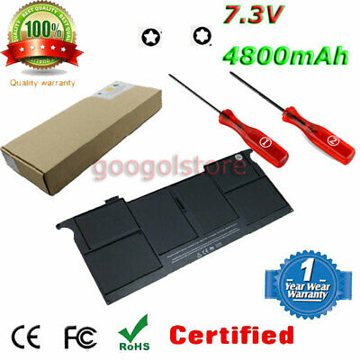 """Batterie for Apple Apple MacBook Air 11"""" 2012 A1465 MD223 MD224 A1406 020-7376-A"""