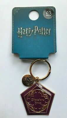 PRIMARK HARRY POTTER HOUSE TEAM CREST METAL KEYRING KEYCHAIN CHARM Brand New