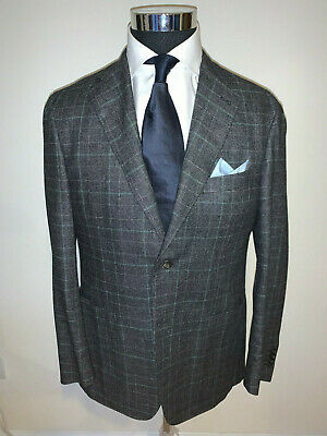 ⭐️ New Canali Kei Collection Gray  Sportcoat Jacket 42 Regular 42R ⭐️