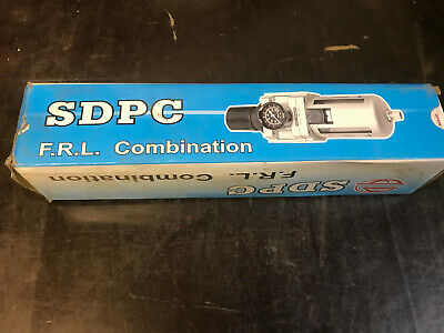 "Boxed Unused SDPC AW3000-02 Air Line Filter Regulator - Air Tool 1/4"" Port Size"