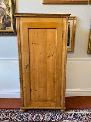 Continental Single Pine Cupboard/wardrobe