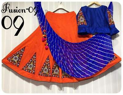 Lehenga Kutch work with embroidery patch work n latakan blouse stiched n work