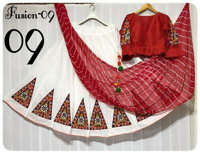 Kutch work lehenga with embroidery patch work n latakan blouse stiched n work