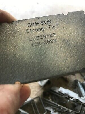 Simpson Strong-Tie LUS26-2Z DOUBLE SHEAR NAILING LOT 5 Pcs